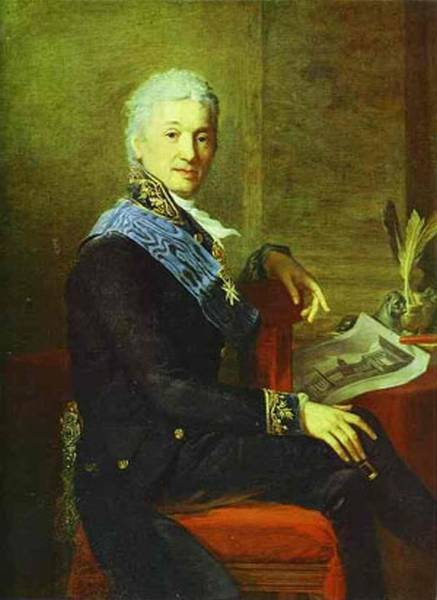 portrait of count alexander stroganoff the president of the academy of arts 1800 1811 1804 XX the museum of the academy of arts